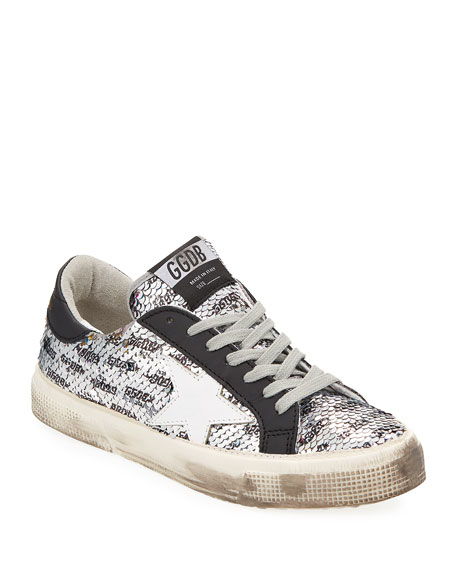 2225784abd20c Golden Goose May Rainbow Sequin Star Sneakers