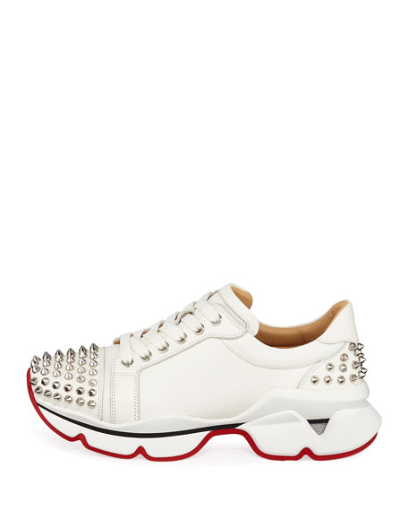 VRS Leather Red Sole Sneakers