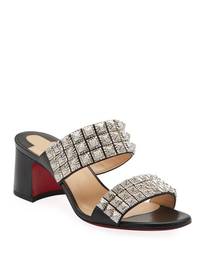 a4b06943ed942 Myriadiam 55 Red Sole Slide Sandals Quick Look. Christian Louboutin