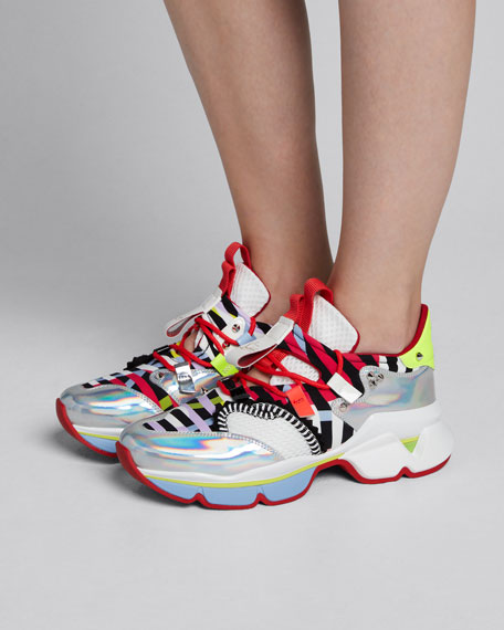Donna Runner Red Sole Sneakers