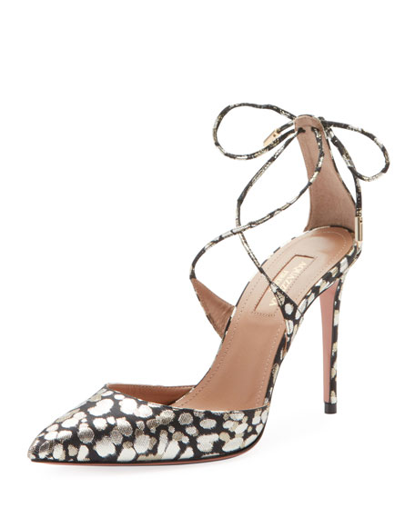 Aquazzura Very Matilde Crisscross Pumps
