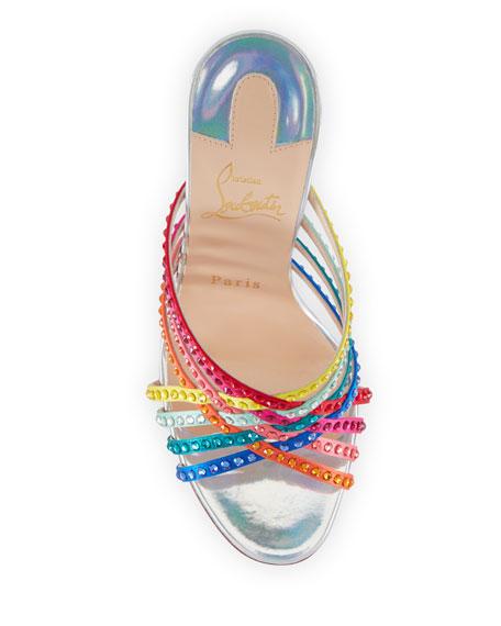 Marthastrass 100 Red Sole Slide Sandals