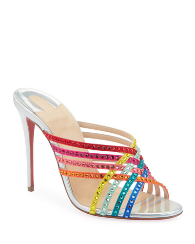 a56a24551ce73 Marthastrass 100 Red Sole Slide Sandals Quick Look. Christian Louboutin