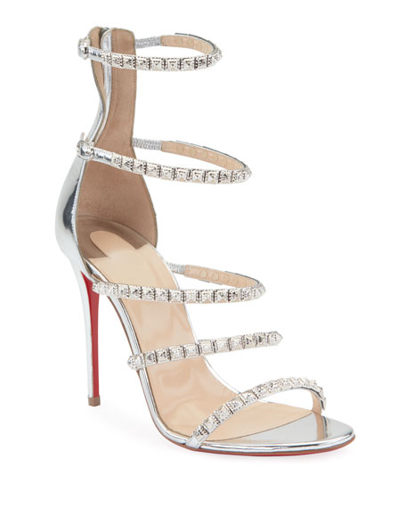 Forever Girl 100 Red Sole Sandals