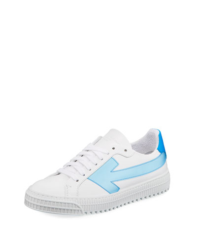 Arrow Low-Top Leather Sneakers