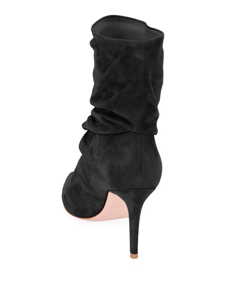 Slouchy Suede 85mm Booties