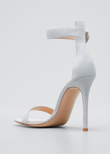 Portofino Suede 105mm Sandals