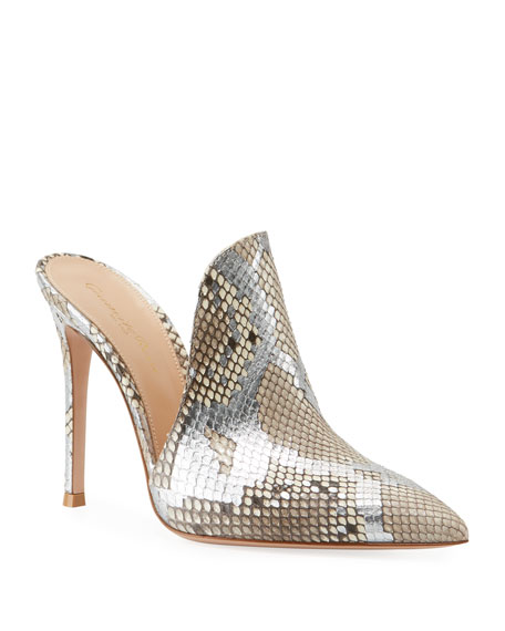 Python Pointed Slide Mules