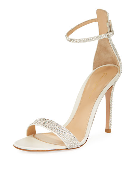 8bb2ba9df64d Gianvito Rossi Crystal Strappy 105mm Sandals