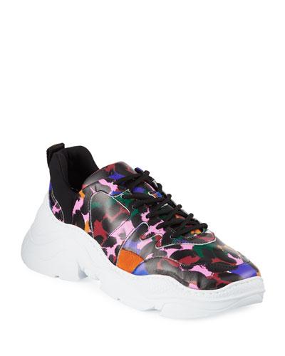 Jackye Leopard-Print Sneakers