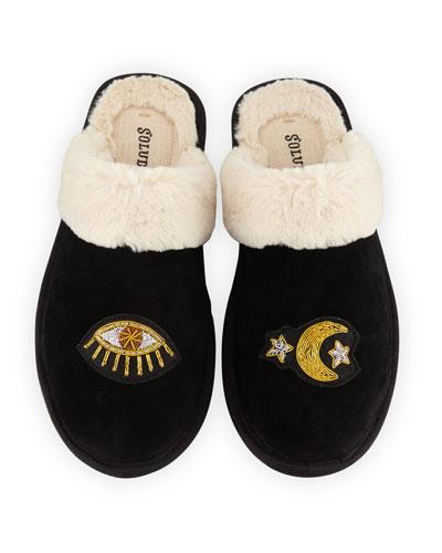 Celestial Cozy Slipper Mules