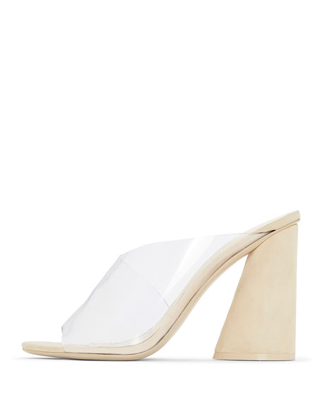 Kuri Transparent Slide Sandals