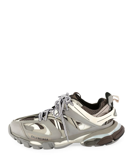 Women's Track Mixed-Media Sneakers