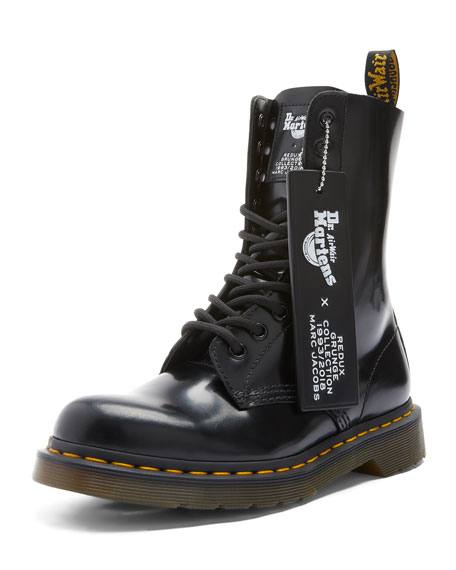 Marc Jacobs x Dr. Martens Leather Boots
