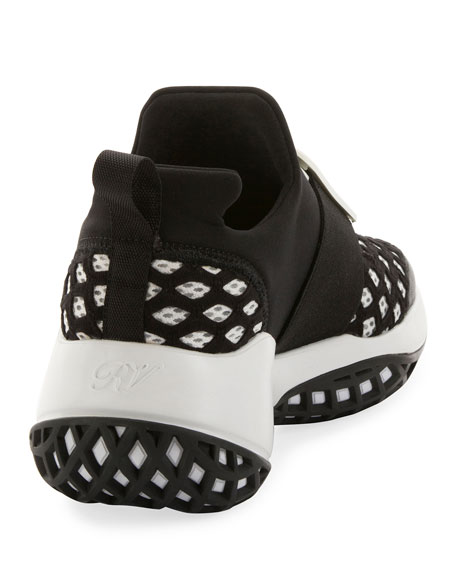 Running Neoprene Buckle Sneakers