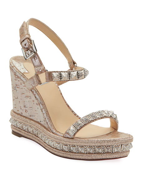 Pyradiams Wedge Red Sole Sandals
