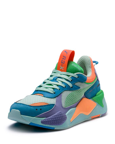 RS-X Colorblock Sneakers  Blue