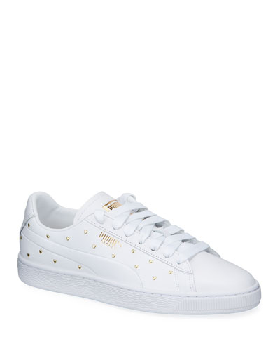 Basket Heart Studs Sneakers