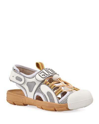 3d1e4e62643 Tinsel Sneaker-Style Sandals Quick Look. Gucci