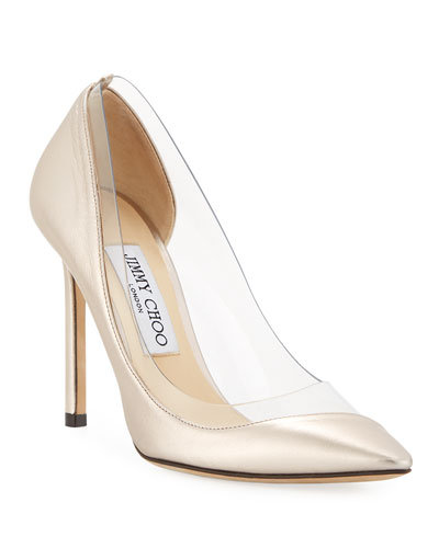 Romy Metallic Illusion Pumps