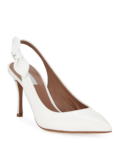 Millie Leather Slingback Pumps