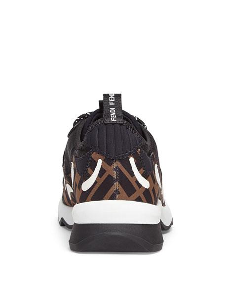 Fendi Freedom FF Patchwork Sneakers b4c07914a9370