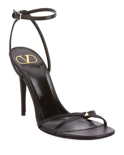 Rockstud Ankle-Strap Sandals