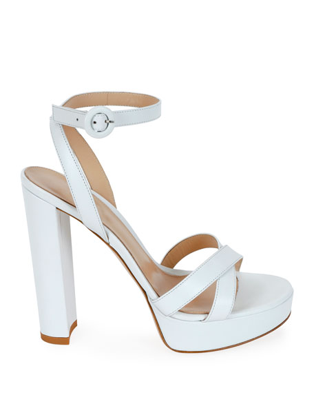 Platform Crisscross Sandals