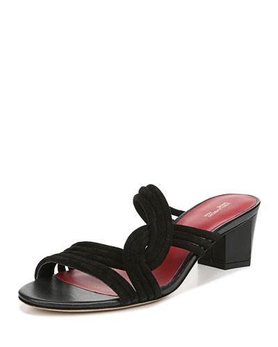 1450cea17a8 Jada Suede Knot Slide Sandals Quick Look. Diane von Furstenberg