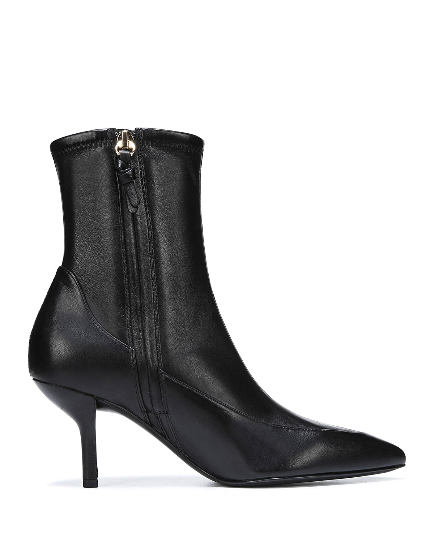 DIANE VON FURSTENBERG Boots Morgan Leather Pointed Booties