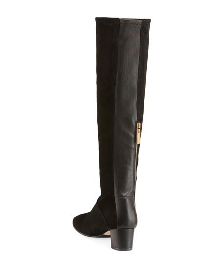 Shrimpton Suede Knee Boots