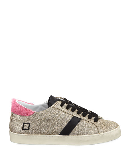 Hill Low-Top Glitter Sneakers