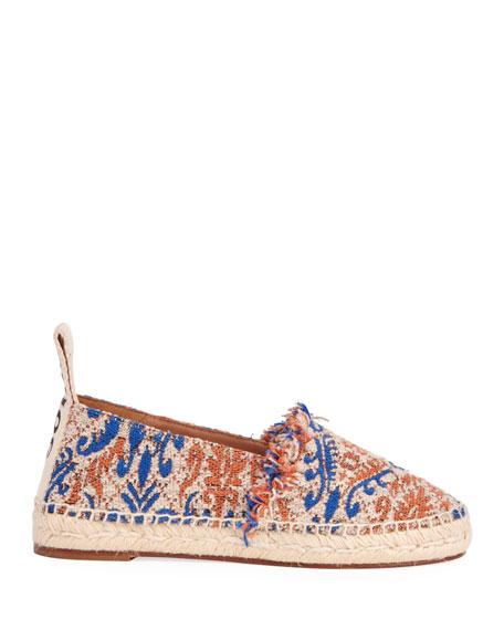 Woody Tapestry Slip-On Espadrilles