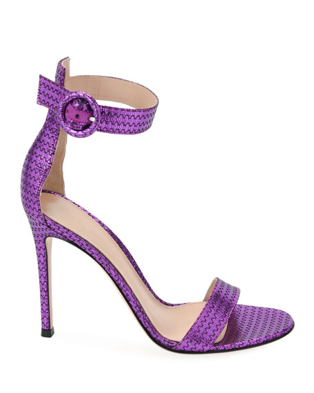 Portofino Metallic d'Orsay Sandals