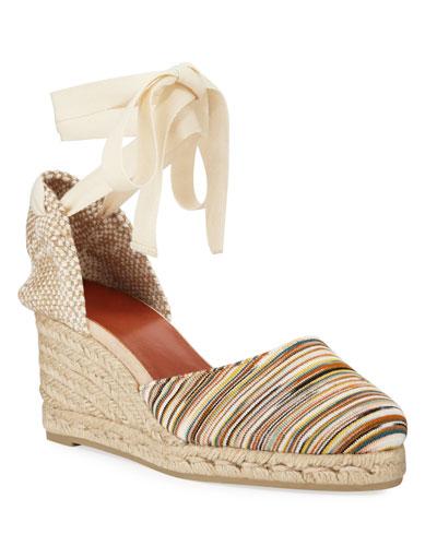x Missoni Carina 70mm Knit Platform Espadrilles