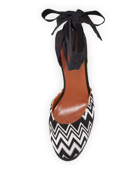 x Missoni Carina 95mm Knit Platform Espadrilles