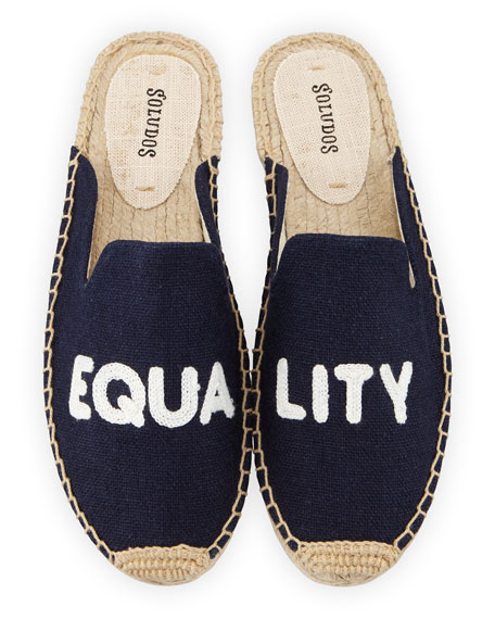 Soludos EQUALITY FLAT ESPADRILLE MULES