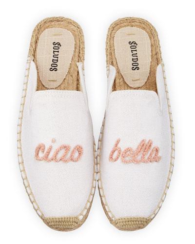 Ciao Bella Espadrille Mules