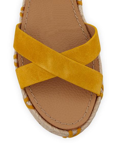 Jacky Ankle-Wrap Platform Sandals