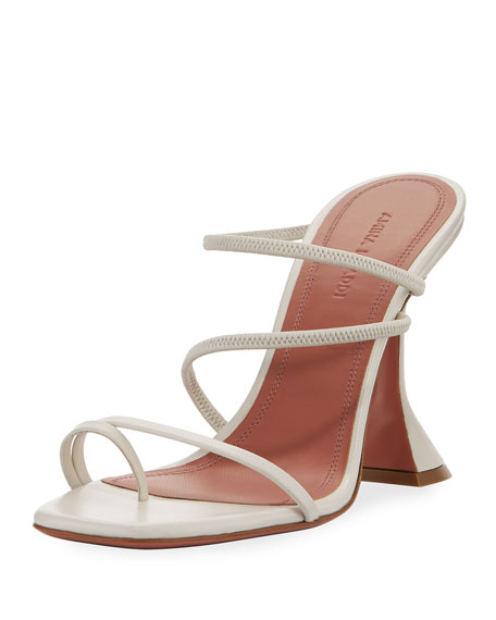 Naima Leather Slide Sandals