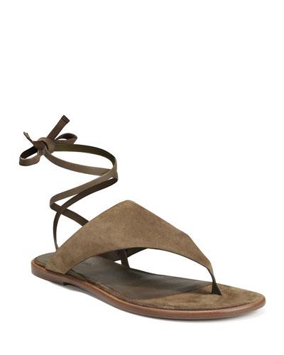 Eastwood Flat Sport Suede Sandals