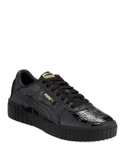6cb89b3a33e Cali Croc-Embossed Patent Sneakers Quick Look. Puma