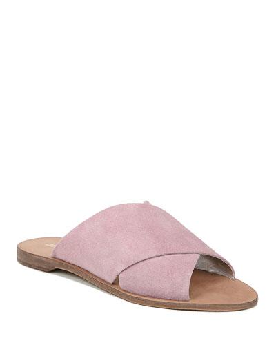 Bailie Suede Flat Sandals