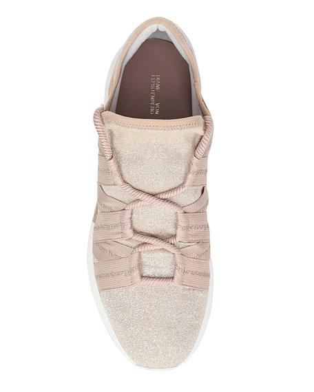 Pandora Glitter Knit Sneakers