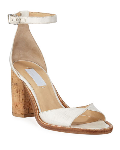 Adi Leather Ankle Sandals