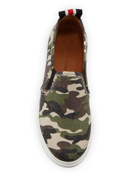 Westley Camo Slip-On Sneakers