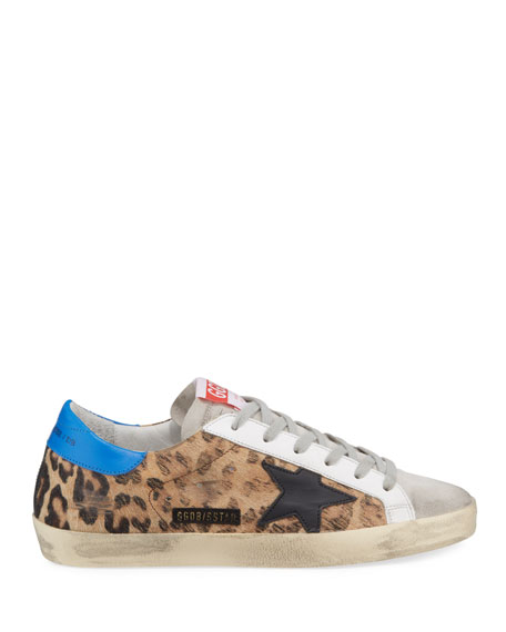 Superstar Leopard-Print Low-Top Sneakers