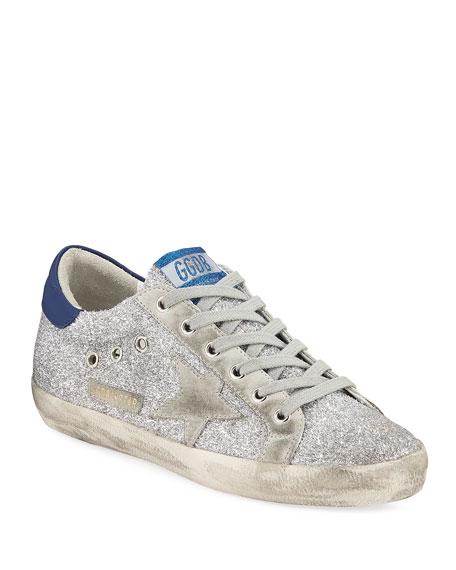 Superstar Glitter Fabric Sneakers