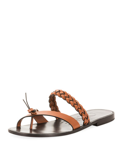 c33f91aeb x Paula s Ibiza Braided Flat Sandals Quick Look