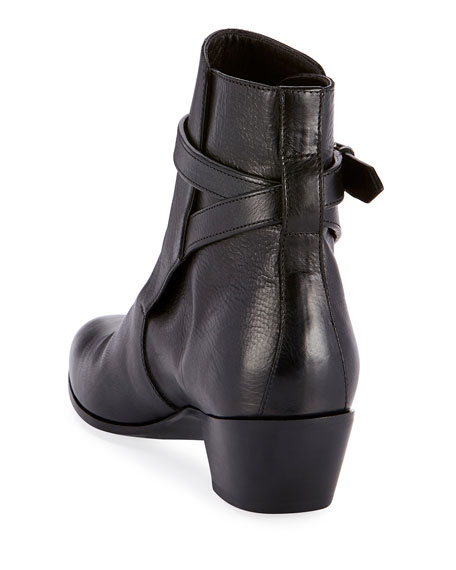 West Jodhpur Leather Booties